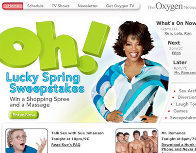 Oxygen Network Website
