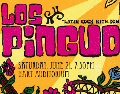 Los Pinguos Poster - BYU-Idaho Center Stage