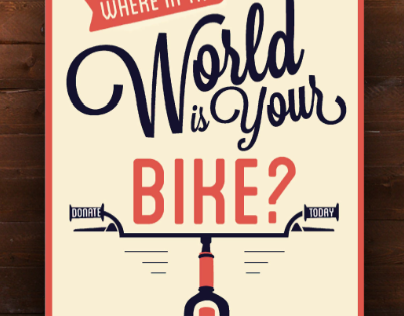 Advocacy Posters: Bikes for the World