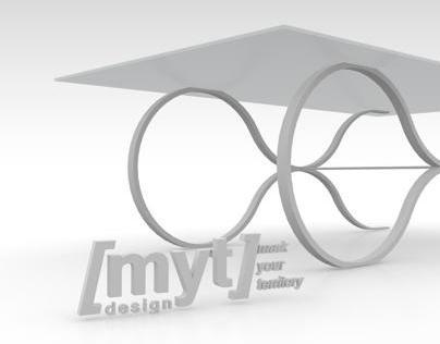 // MYT Design Ltd: Curve Table (coffee)
