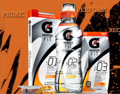 Gatorade G_Power Advertising Project