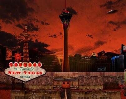 New Vegas Travel Poster