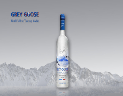Grey Goose Surrealism Adverting Class Project