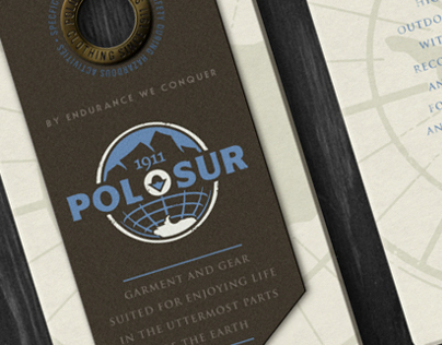 POLO SUR fashion branding