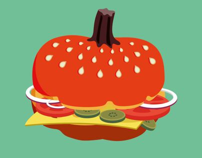Гарбузгер / Pumpkin burger