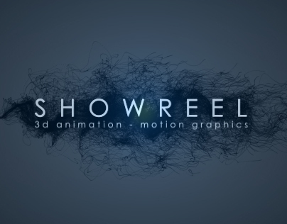 SHOWREEL - 3d - motion