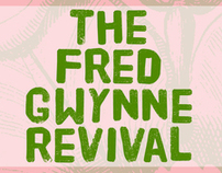 Fred Gwynne Revival band concert poster