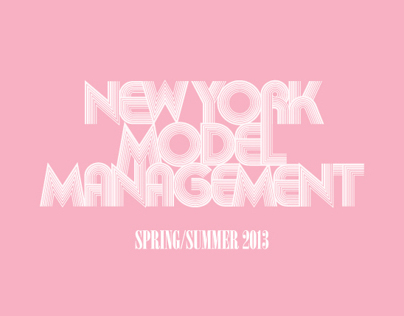 New York Model Management S/S 2013 Show Package