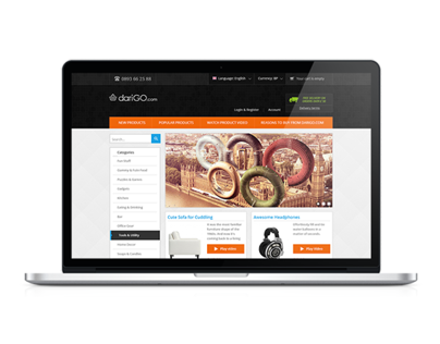Magento E-commerce Template dariGO