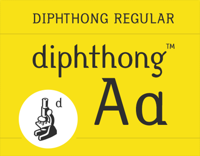 Diphthong Regular, 2.0