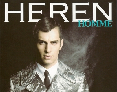 Heren Homme October 2012 ,Korea