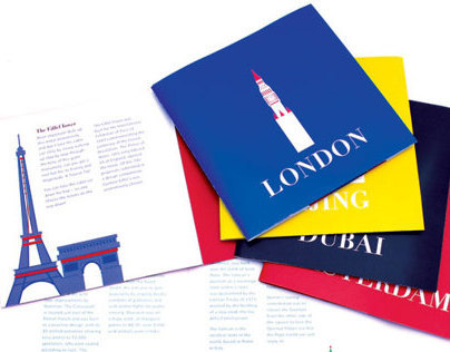 Design - Travel booklets