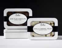 BELLAS CONFECTIONS PACKAGING & BROCHURE
