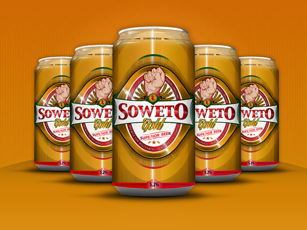 Soweto Gold Superior Beer