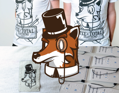 Tee Total Clothing (Branding & Mascot)
