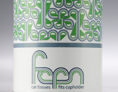 Fern Car Tissues