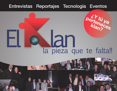 "Revista Interactiva ""El Klan"""