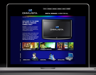 OmniVista Website Design