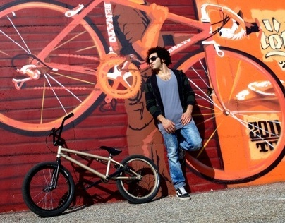 Industrial BMX Ride with rider Hatem Nsour
