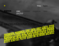 Zemin Architecture Website
