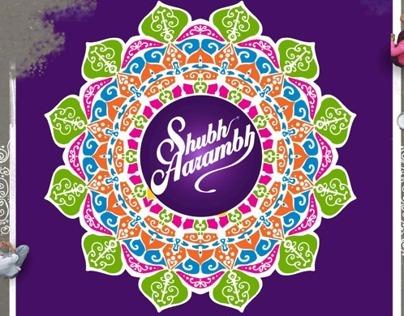 cadbury dairy milk (Shubh Arambh)