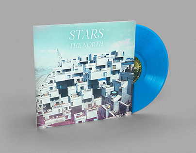 Stars The North Album and Merch Design