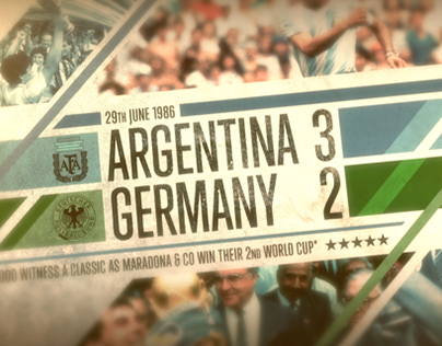 FIFA WORLD CUP / EUROPE v AMERICA