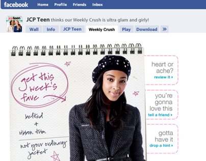 JCP Teen Facebook