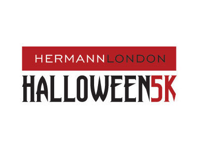 Hermann London Halloween 5k Branding