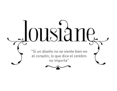 Lousiane (free font)