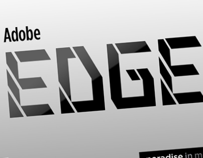 Adobe Edge Animate -Experiment