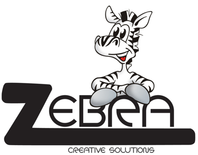 Zebra Creative Solutions Logo Designs