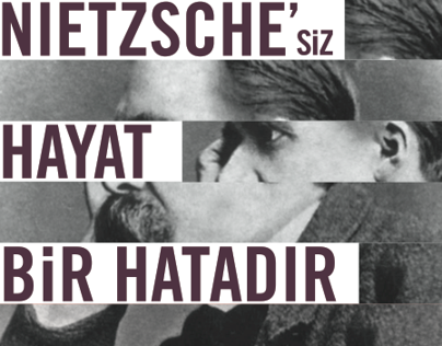 Nietzsche book cover design