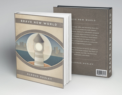Brave New World Alternate Book Cover