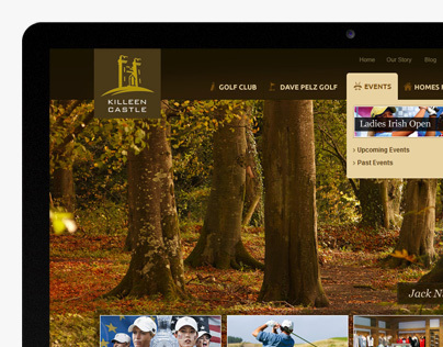 Killeen Castle Website Concepts