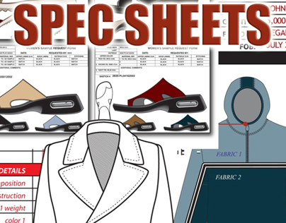 TECH PACKETS | FLATS | SPEC SHEETS