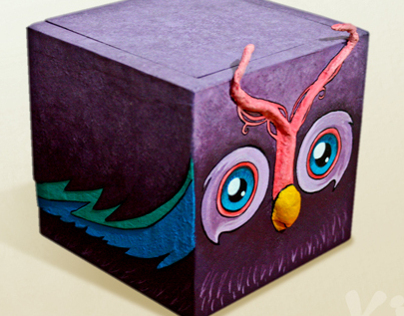 Animal Painted Boxes