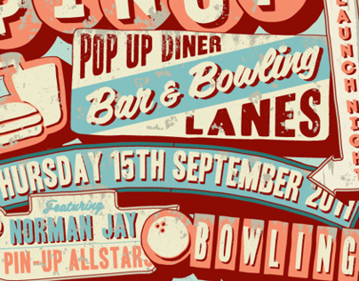 Pin Up Bowling Alley