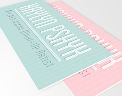 Pshyk Business Cards