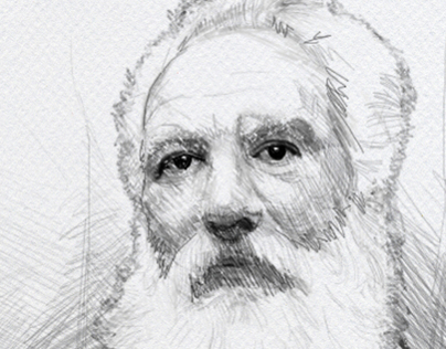 Sketch of Graham Bell