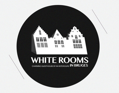 WHITE ROOMS in Brudges | Logo