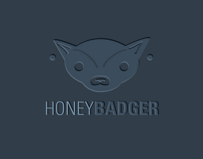 Honeybadger Logo Design