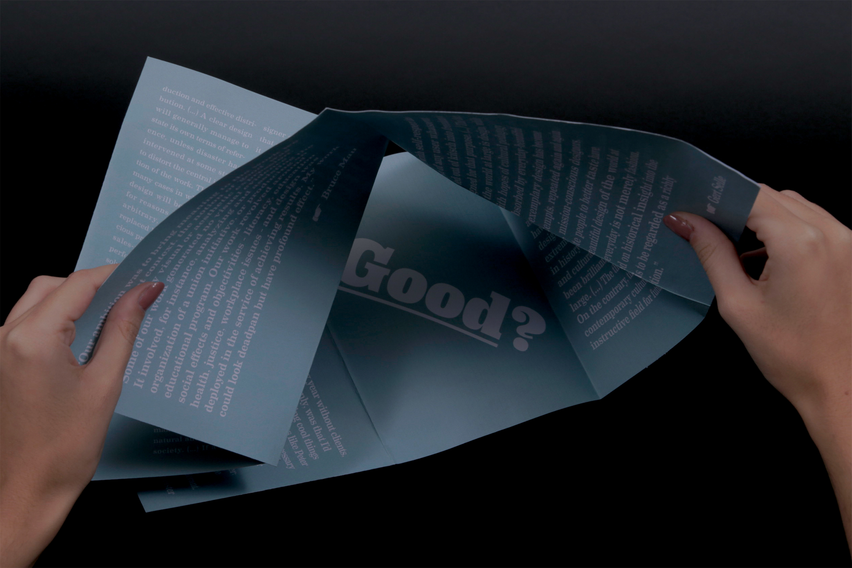 What is Good? - Design Reader