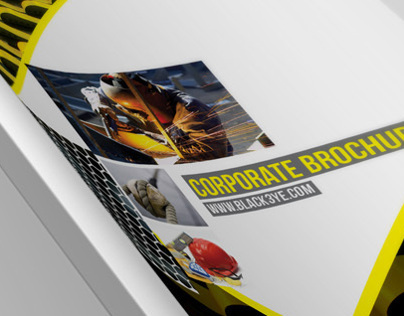 Modern Industries Brochure Template