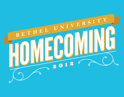 Bethel University Homecoming T-Shirt Design 2012