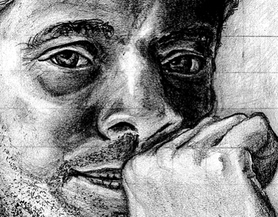 Portrait Using a Grid/Pencil Drawing 2012