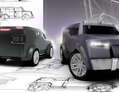 Diploma Project Armored Car