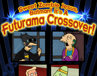 Sweet Zombie Jesus, Batman!