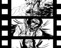 Film Storyboard - The 4th Magi