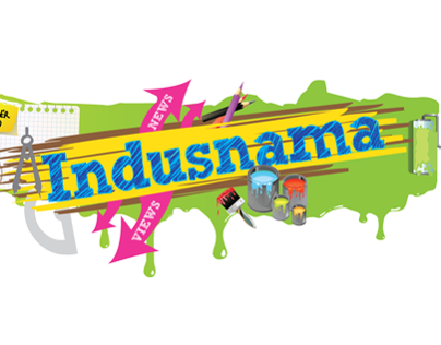 Indusnama (Newsletter Design)